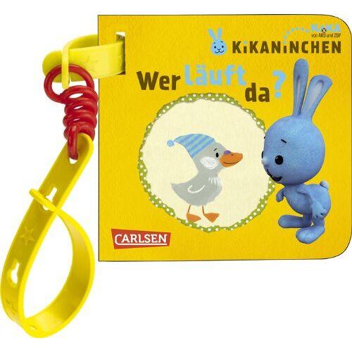 Julia Hofmann - KiKANiNCHEN: Wer läuft da?: Mein Kikaninchen-Buggybuch - Preis vom 16.06.2021 04:47:02 h