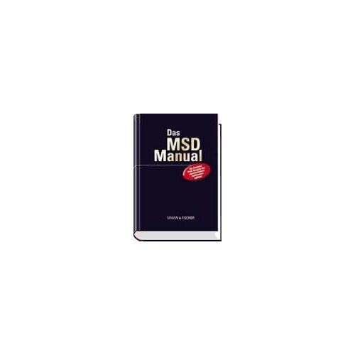 Karl Wiemann - MSD-Manual der Diagnostik und Therapie: mit Griffregister - Preis vom 02.08.2021 04:48:42 h