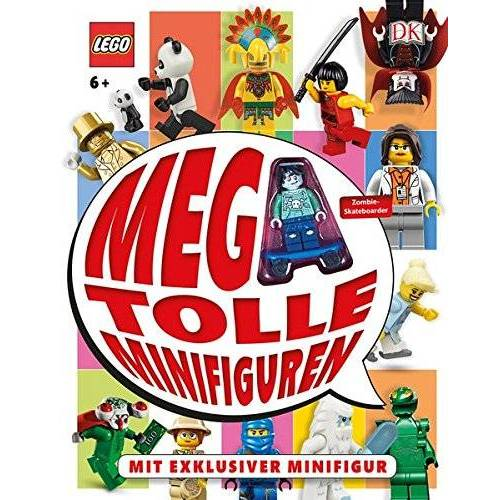 Daniel Lipkowitz - LEGO® Mega-tolle Minifiguren: Mit exklusiver Minifigur - Preis vom 02.08.2021 04:48:42 h