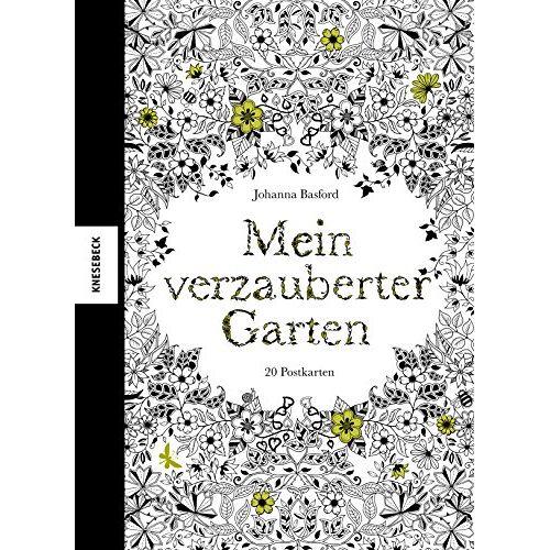 Johanna Basford - Mein verzauberter Garten: Postkartenbuch mit 20 herausnehmbaren Postkarten - Preis vom 24.07.2021 04:46:39 h