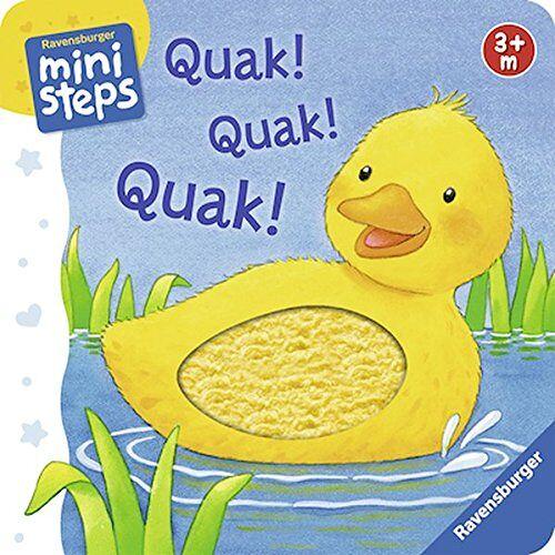 - Quak! Quak! Quak!: Ab 3 Monaten (ministeps Bücher) - Preis vom 15.06.2021 04:47:52 h