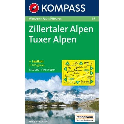 - Zillertaler Alpen, Tuxer Alpen: Wander-, Rad- und Skitourenkarte. GPS-genau. 1:50.000 - Preis vom 11.06.2021 04:46:58 h