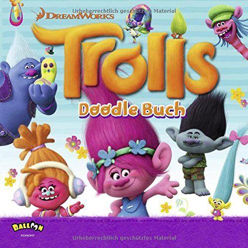 DreamWorks - Trolls - Das Doodle Buch - Preis vom 21.06.2021 04:48:19 h