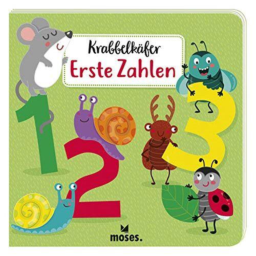 Sandra Kretzmann - Krabbelkäfer - Erste Zahlen   Pappbilderbuch für Kinder ab 2 Jahren   Zahlen von 1 bis 10 - Preis vom 19.06.2021 04:48:54 h