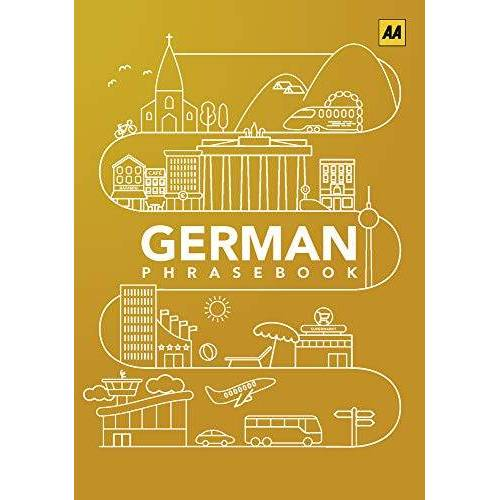AA Publishing - German Phrasebook (AA Phrasebooks) - Preis vom 11.10.2021 04:51:43 h