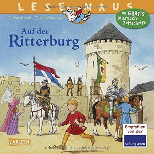Christa Holtei - LESEMAUS 105: Auf der Ritterburg - Preis vom 02.08.2021 04:48:42 h