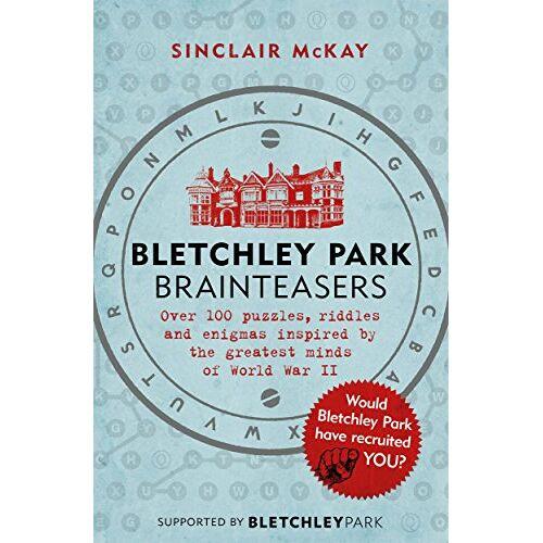 Sinclair McKay - Bletchley Park Brainteasers - Preis vom 15.09.2021 04:53:31 h