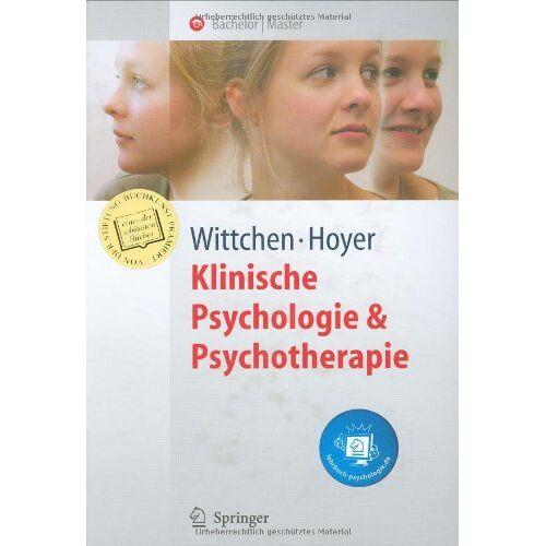 Hans-Ulrich Wittchen - Klinische Psychologie & Psychotherapie (Springer-Lehrbuch) - Preis vom 29.07.2021 04:48:49 h