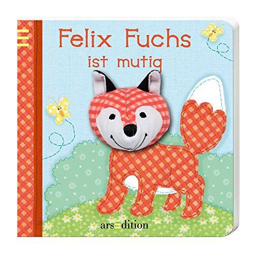 Sandra Grimm - Mein Fingerpuppenbuch - Felix Fuchs ist mutig (Fingerpuppenbücher) - Preis vom 15.10.2021 04:56:39 h