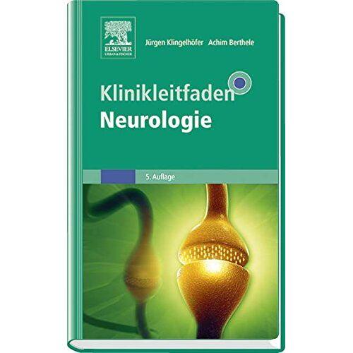 Jürgen Klingelhöfer - Klinikleitfaden Neurologie - Preis vom 17.09.2021 04:57:06 h
