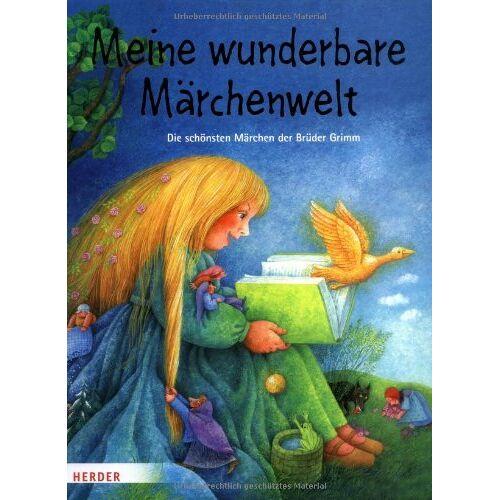 - Meine wunderbare Märchenwelt: Die schönsten Märchen der Brüder Grimm - Preis vom 14.06.2021 04:47:09 h