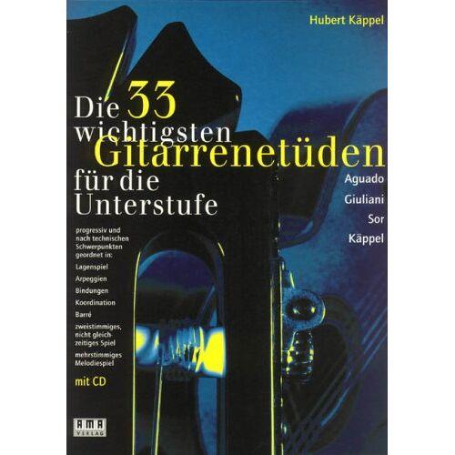 - Die 33 Wichtigsten Gitarrenetueden. Gitarre - Preis vom 15.06.2021 04:47:52 h