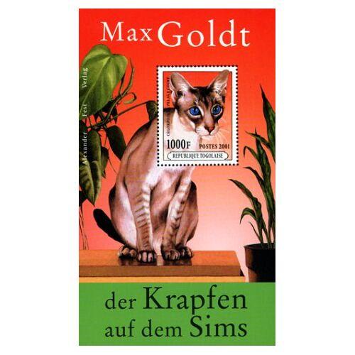 Max Goldt - Der Krapfen auf dem Sims - Preis vom 20.06.2021 04:47:58 h