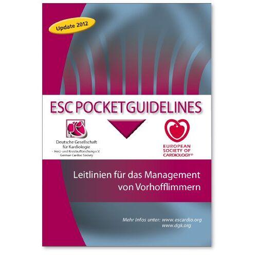 Deutsche Gesellschaft für Kardiologie - Leitlinien für das Management von Vorhofflimmern - Preis vom 11.06.2021 04:46:58 h
