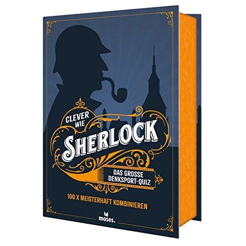 Elke Vogel - Clever wie Sherlock: Das große Denksport-Quiz (Quiz-Boxen) - Preis vom 16.06.2021 04:47:02 h