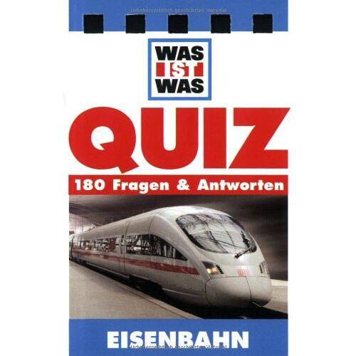 - Was ist Was. Quizblock Eisenbahn: 180 Fragen und Antworten - Preis vom 11.10.2021 04:51:43 h