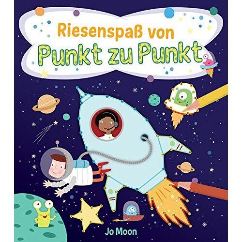 Jo Moon - Punkt-zu-Punkt für Kinder: Riesenspaß von Punkt zu Punkt - Preis vom 31.07.2021 04:48:47 h