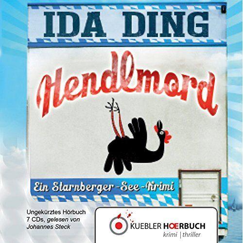 Ida Ding - Hendlmord: Ein Starnberger-See-Krimi - Preis vom 30.07.2021 04:46:10 h