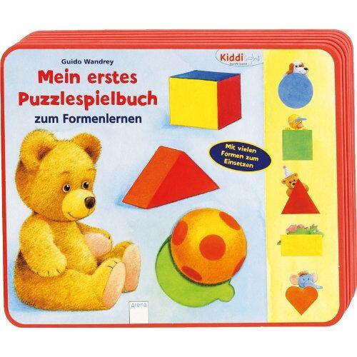 Guido Wandrey - Mein erstes Puzzlespielbuch zum Formenlernen - Preis vom 02.08.2021 04:48:42 h
