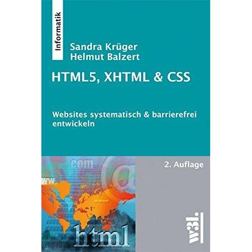 Helmut Balzert - HTML5, XHTML & CSS, 2. Auflage - Preis vom 19.06.2021 04:48:54 h