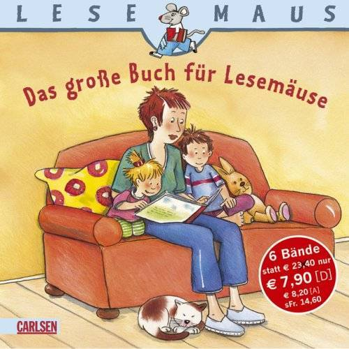 - LESEMAUS Sonderbände: Das große Buch für Lesemäuse - Preis vom 23.09.2021 04:56:55 h