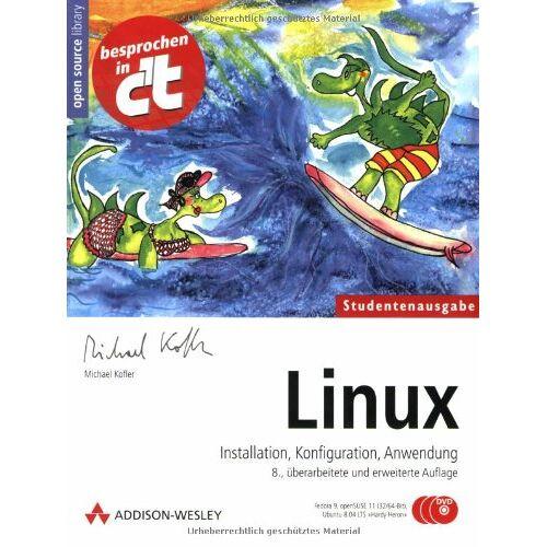 Michael Kofler - Linux - Studentenausgabe (mit drei DVDs: Fedora 10, openSUSE 11.1 und Ubuntu 8.10) - Preis vom 09.06.2021 04:47:15 h