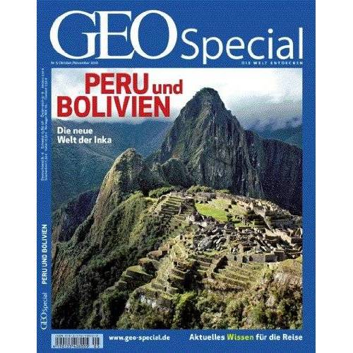 GEO - Geo Special : Peru und Bolivien, m. DVD: 5/2010 - Preis vom 11.06.2021 04:46:58 h
