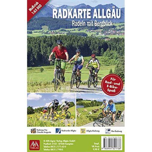 AVA-Verlag Allgäu GmbH - Radkarte Allgäu - Preis vom 23.09.2021 04:56:55 h