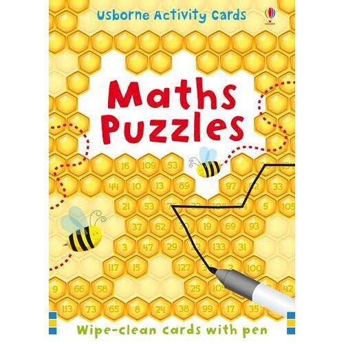 Sarah Khan - Maths Puzzles (Usborne Puzzle Cards) - Preis vom 14.10.2021 04:57:22 h