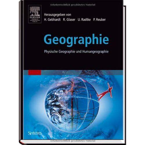 Hans Gebhardt - Geographie: Physische Geographie und Humangeographie (Sav Geowissenschaften) - Preis vom 16.06.2021 04:47:02 h
