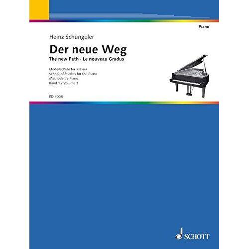 - Der neue Weg: Etüdenschule für Klavier. Band 1. Klavier. - Preis vom 11.06.2021 04:46:58 h