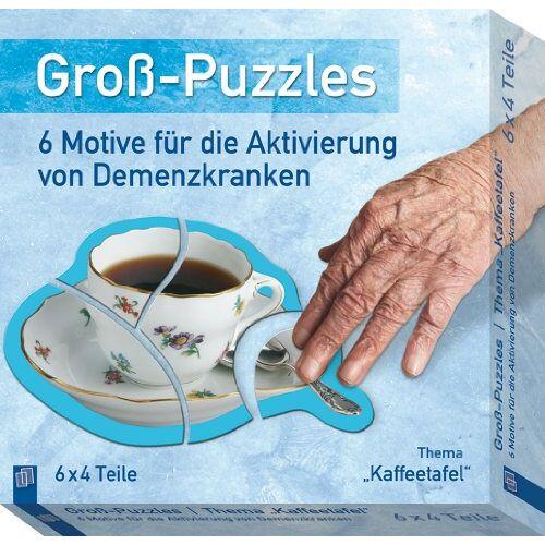 - Groß-Puzzles: 6 Motive für die Aktivierung von Demenzkranken: Thema Kaffeetafel - Preis vom 23.07.2021 04:48:01 h