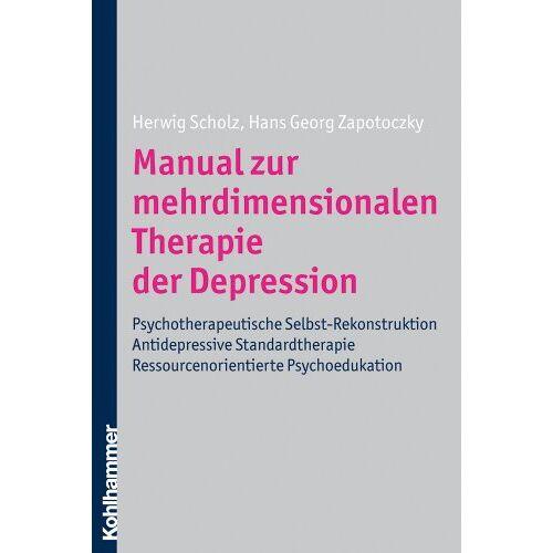 Herwig Scholz - Manual zur mehrdimensionalen Therapie der Depression: Antidepressive Standardtherapie - Psychotherapeutische Selbst-Rekonstruktion - Ressourcenorientierte Psychoedukation - Preis vom 16.06.2021 04:47:02 h