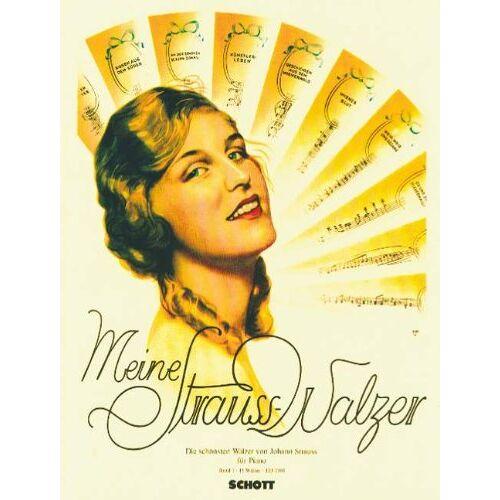 - Meine Strauß-Walzer: Die schönsten Walzer für Klavier. Band 1. Klavier. - Preis vom 13.06.2021 04:45:58 h