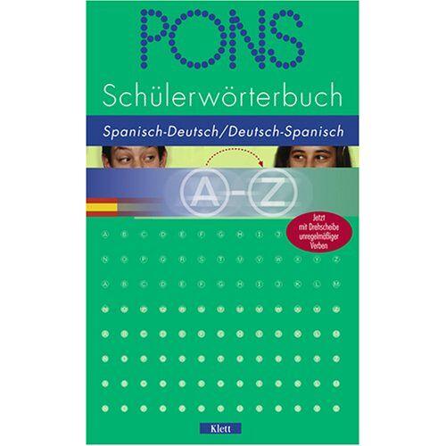Pons - PONS Schülerwörterbuch Spanisch. Spanisch-Deutsch / Deutsch-Spanisch ab Klasse 7 - Preis vom 15.06.2021 04:47:52 h