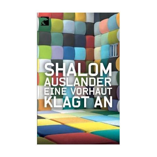 Shalom Auslander - Eine Vorhaut klagt an - Preis vom 09.06.2021 04:47:15 h