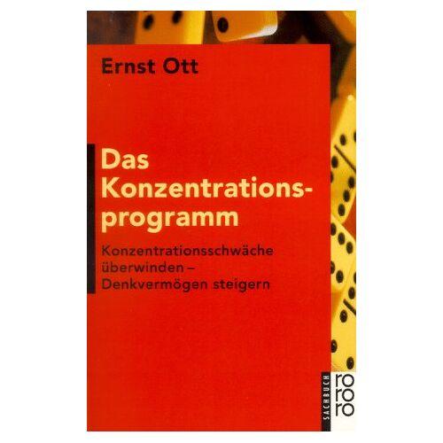 Ernst Ott - Das Konzentrationsprogramm - Preis vom 20.06.2021 04:47:58 h
