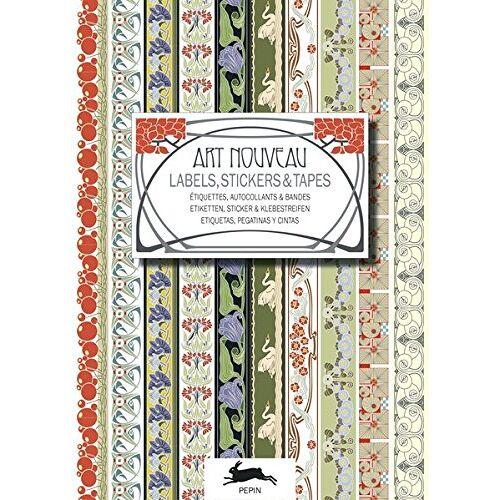 Roojen, Pepin van - Art Nouveau - Labels, Stickers and Tapes: Label and Sticker Books (Label & Sticker Books) - Preis vom 12.06.2021 04:48:00 h