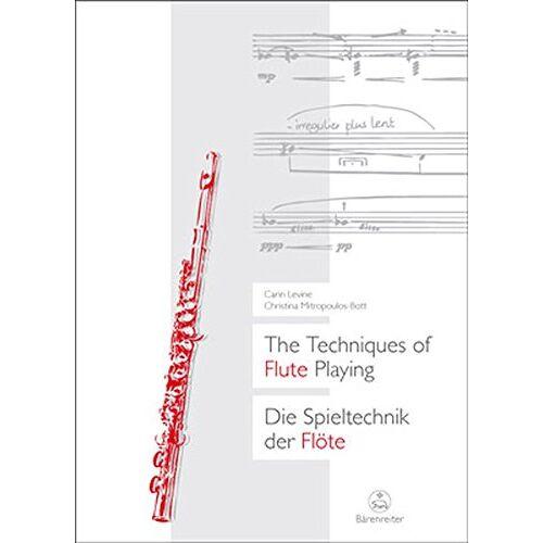 Carin Levine - The Techniques of Flute Playing: Die Spieltechnik der Flöte - Preis vom 21.06.2021 04:48:19 h