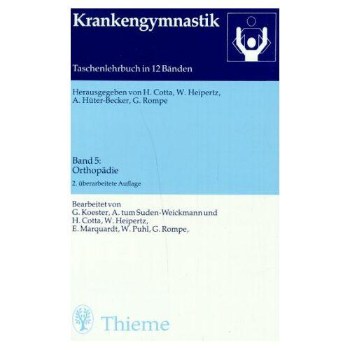 - Krankengymnastik, Bd.5, Orthopädie - Preis vom 09.06.2021 04:47:15 h
