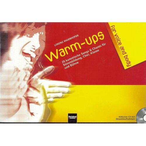 Lorenz Maierhofer - Warm-ups for voice & body - Preis vom 11.06.2021 04:46:58 h