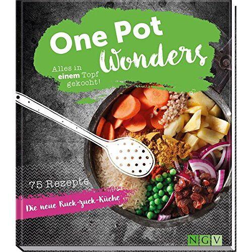 Marie Gründel - One Pot Wonders: Alles in einem Topf gekocht - Preis vom 21.06.2021 04:48:19 h