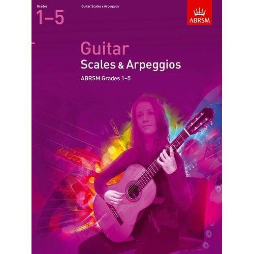 ABRSM - Guitar Scales and Arpeggios, Grades 15 (Abrsm Scales & Arpeggios) - Preis vom 21.06.2021 04:48:19 h