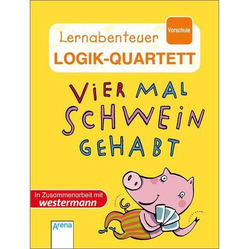 Lisa Golze - Vier Mal Schwein gehabt!: Logik-Quartett - Kartenspiel mit 60 Karten - Preis vom 17.06.2021 04:48:08 h