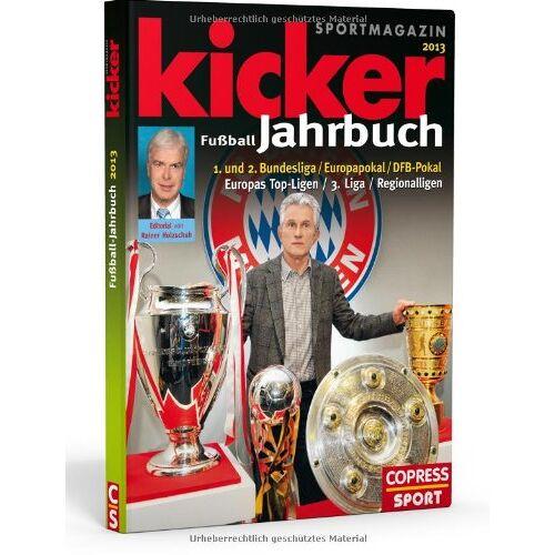 Kicker Fussball Jahrbuch 2013 - Preis vom 21.06.2021 04:48:19 h