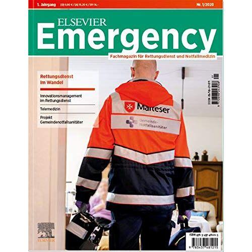 Frank Flake - Elsevier Emergency. Rettungsdienst im Wandel.: Fachmagazin für Rettungsdienst und Notfallmedizin. #1 - Preis vom 01.08.2021 04:46:09 h