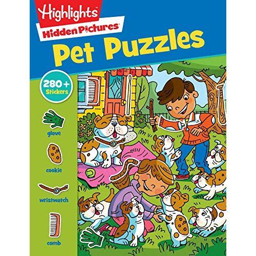 - Pet Puzzles (Highlights Sticker Hidden Pictures) - Preis vom 11.10.2021 04:51:43 h
