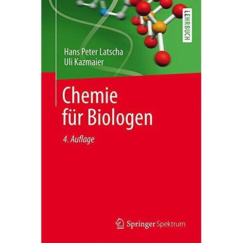Latscha, Hans Peter - Chemie für Biologen - Preis vom 23.07.2021 04:48:01 h