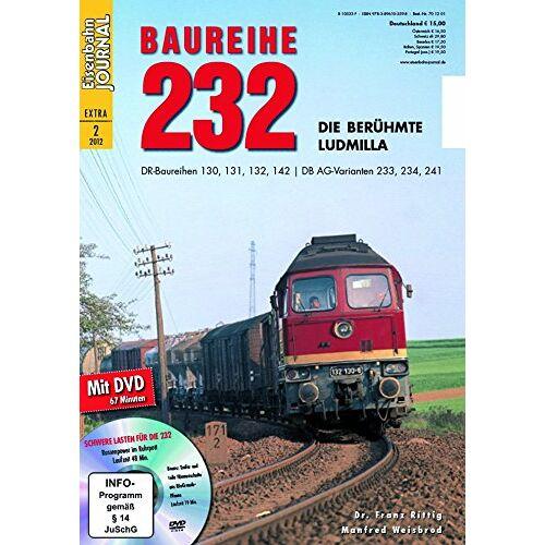 Dr. Franz Rittig - Baureihe 232 - mit Video-DVD - Eisenbahn Journal Extra-Ausgabe 2-2012 - Preis vom 23.07.2021 04:48:01 h