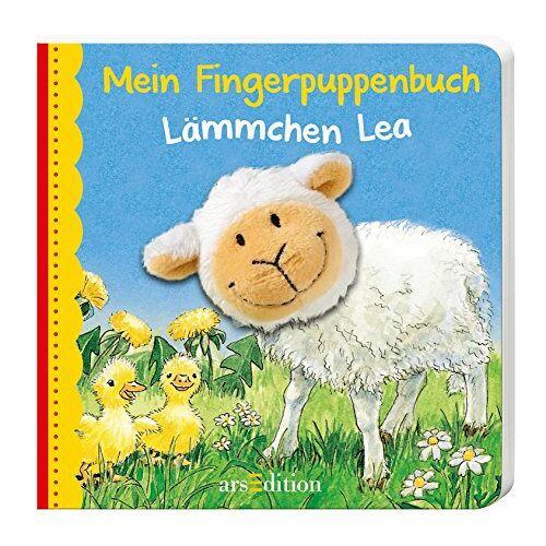 Andrea Gerlich - Mein Fingerpuppenbuch Lämmchen Lea (Fingerpuppenbücher) - Preis vom 20.06.2021 04:47:58 h